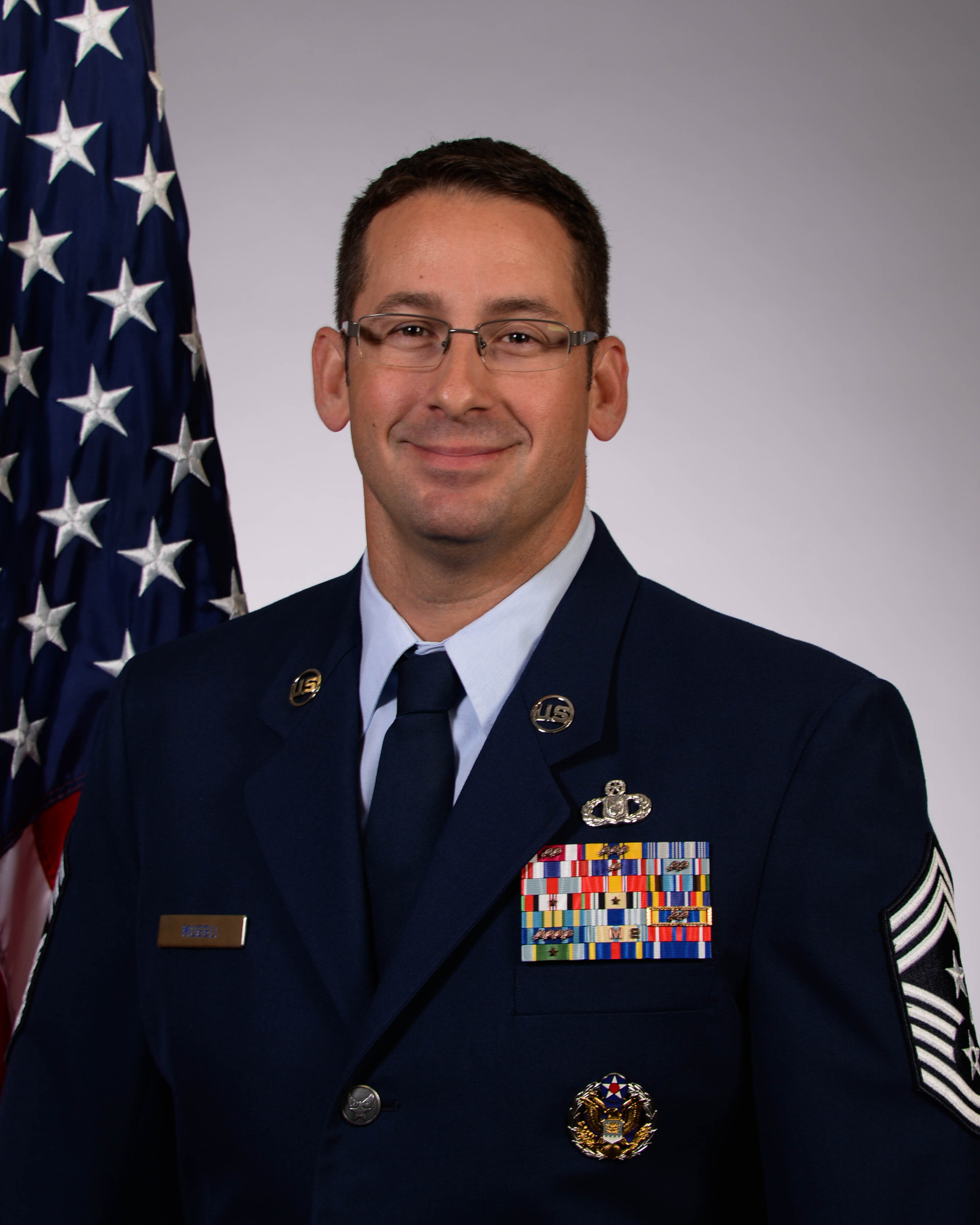 Chief Master Sgt. Paul Muggli